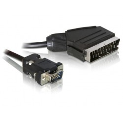 Adaptador Scart Out para VGA In Delock