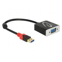Adaptador USB 3.0 Tipo-A macho para HDMI fêmea Delock