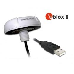 Antena GPS NL-8022MU u-blox 8 USB Outdoor Marine Navilock