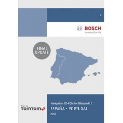 Mapa Portugal/Espanha 2007 Blaupunkt TravelPilot C (non DX) - Update Final (CD)