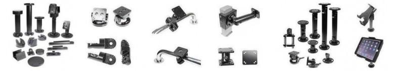 Soluções de montagem para diversos equipamentos